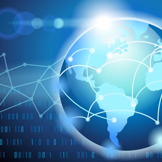 00294 Global Network Internet Illustration thumb