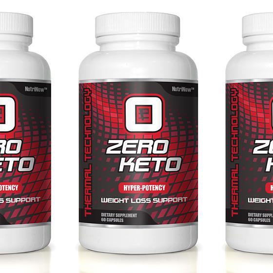 0 Zero Keto pill bottle thumb